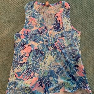 Lilly Pulitzer tank/blouse
